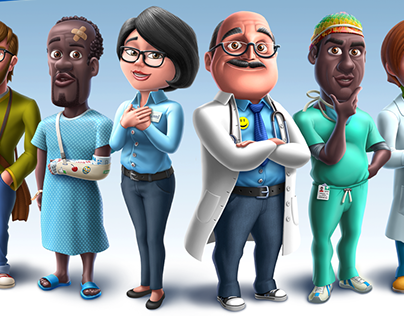 My Hospital - Characters