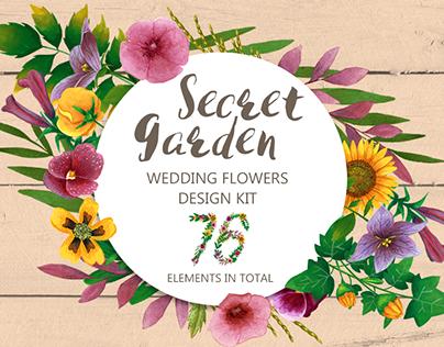 Secret Garden - Design Kit