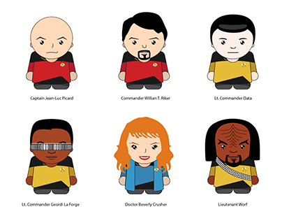 Star Trek TNG Avatars