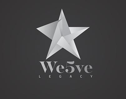 We5ve Legacy logo design