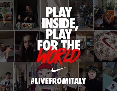 Nike #livefromitaly