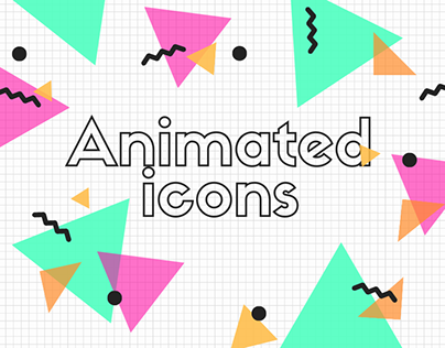 Animated Icons for Adobe XD