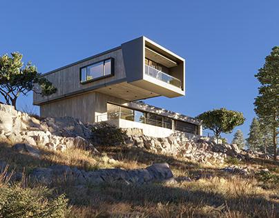 Concrete Hill Villa