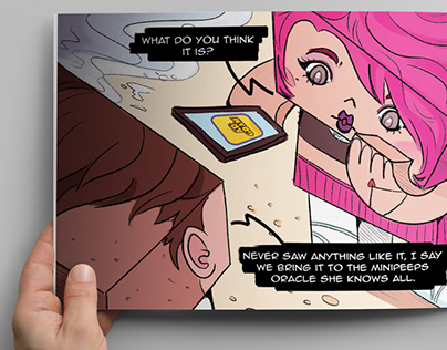 MiniPeeps Comic