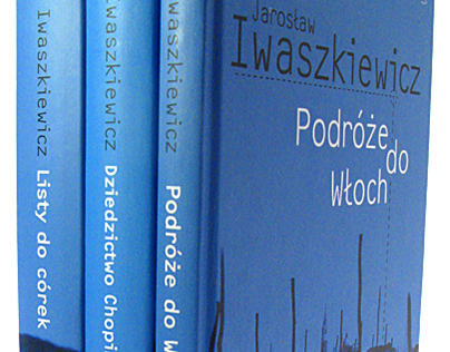 Layout and covers for Iwaszkiewicz serie