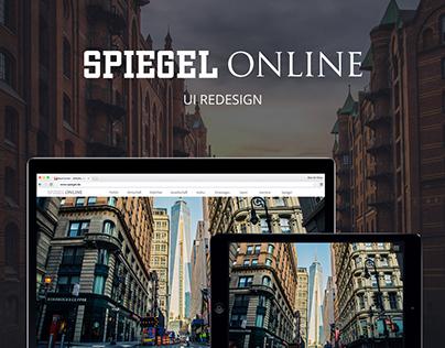 Spiegel Online-UI Redesign