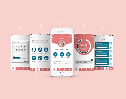 Spire // app design