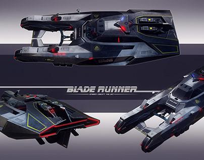Blade runner car concept (fan art)