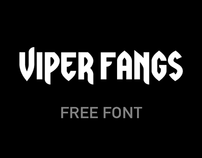 Viper Fangs - Free Font