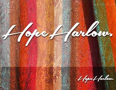 Hope Harlow Clothing Logo Design