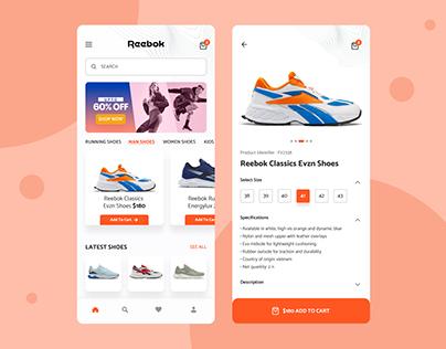 Footwear shop App