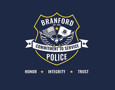 Branford Police Department Branding