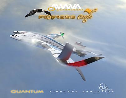 "AWWA·QG ""Progress Eagle"" Quantum Airplane"