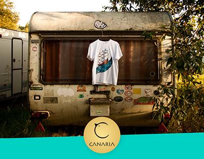 Brand Identity Canaria T-shirts Summer 2016