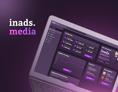 DASHBOARD for CPA network INADS.MEDIA
