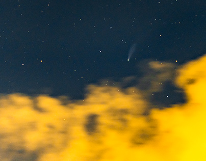 Comet Neowise | By Sourav Mishra.