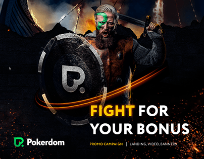 POKERDOM — Landing page   Banners   Promo video Betting