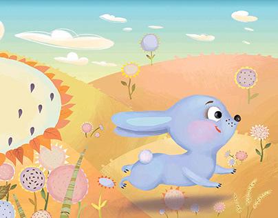 Children's book illustrations.