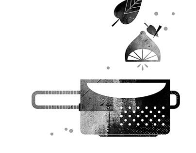 illustrations / poetry book for children