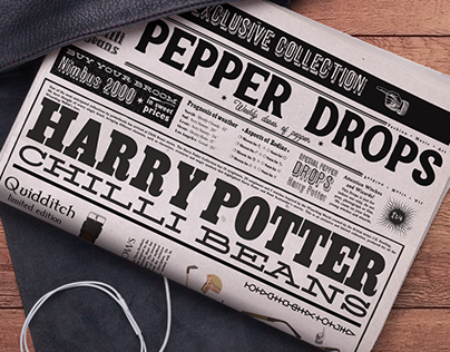 Special Pepper Drops Harry Potter   Chilli Beans