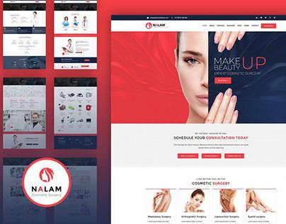 Nalam - Cosmetic Surgery WordPress Theme