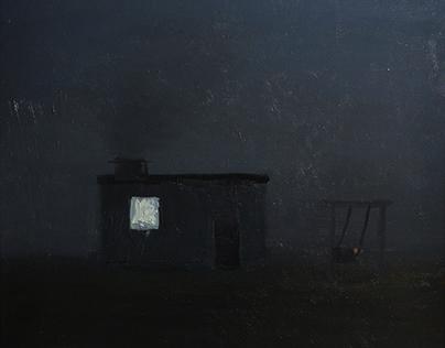 Swing, oil on canvas,2020