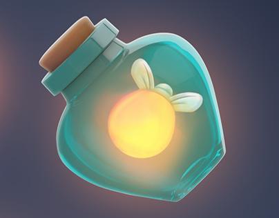 2D & 3D | Fireflies
