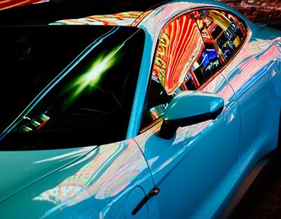 "Porsche Taycan ""From Vegas to Mars"""