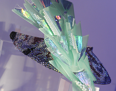 Visor from the Swarovski Launch Spring Summer 2016
