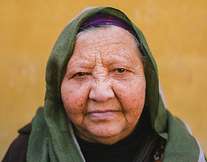 Faces from Al Hussain, Cairo