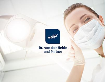 Dr. von der Heide // Website