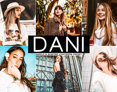 Free Dani Mobile & Desktop Lightroom Preset