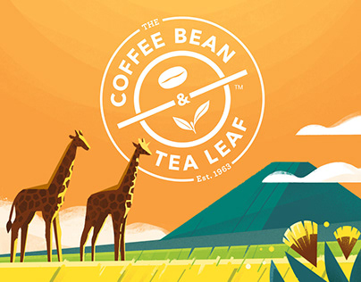 CBTL Coffee Label Illustrations