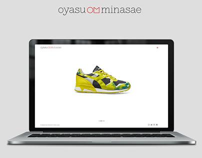 Web Design: Oyasu Minasae