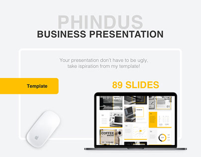 Phindus // Business Presentation Template