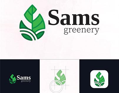 Sams Greenery Branding Identity Project