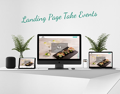 Landing Page Take Events