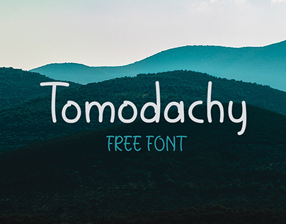 Tomodachy | Free Font