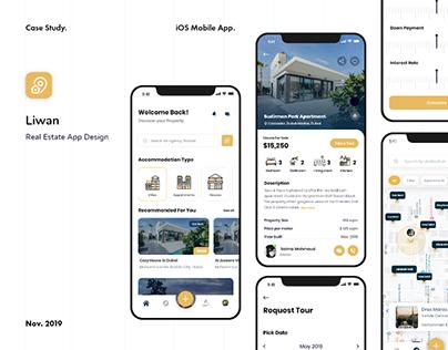 Liwan App | UX UI Design Concept