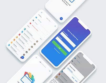 SkyFlok iOS UI