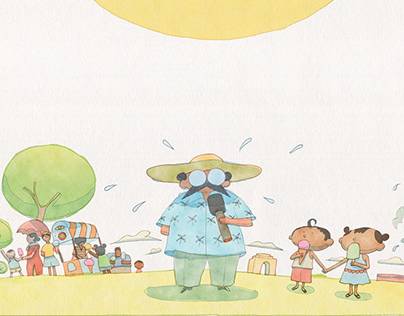 The Weather Report | Picture Book