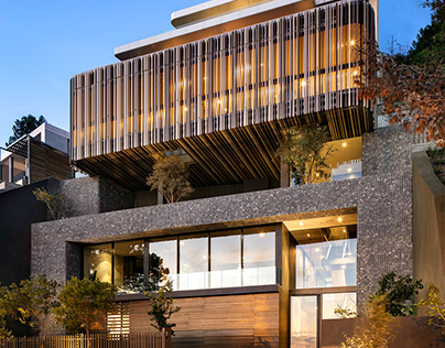 Kloof 145 in Cape Town, South Africa by SAOTA