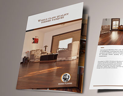 Three Fold Product Brochure