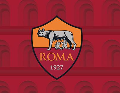 Nike merchandising / AS Roma Institutional Packaging