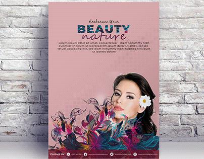 Beauty Nature Poster Desgin