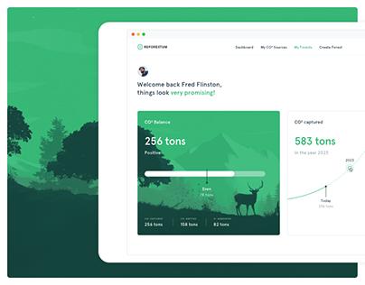 Reforestum Web App