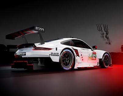 2020 Porsche GTE // 24h LeMans
