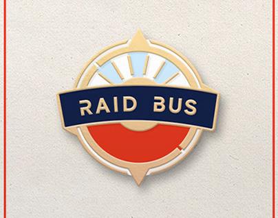 Identity & Apparel Design for Raid Bus