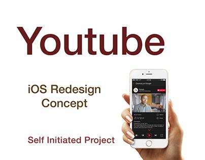 UI Design | Youtube iOS Redesign Concept
