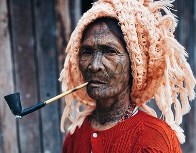 The last tattooed women of Burma